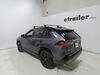 "Thule WingBar Evo Crossbars - Aluminum - Black - 47"" Long - Qty 2 Black TH711220 on 2020 Toyota RAV4"