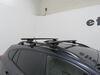"""Thule WingBar Evo Crossbars - Aluminum - Black - 53"""" Long - Qty 2 Black TH711420 on 2019 Subaru Crosstrek"""