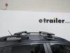 "Thule WingBar Evo Crossbars - Aluminum - Black - 53"" Long - Qty 2 Non-Locking TH711420 on 2019 Subaru Crosstrek"