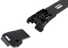Thule AeroBlade Edge Roof Rack for Factory Side Rails - Aluminum - Black 2 Bars TH7502B-TH7503B