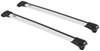 Thule AeroBlade Edge Roof Rack for Raised, Factory Side Rails - Aluminum - Silver Locks Not Included TH7503-TH7504