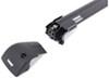 "Thule AeroBlade Edge Crossbar - Fixed Points or Flush Rails - Aluminum - Black - 32"" Long Black TH7601B"