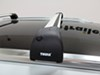 "Thule AeroBlade Edge Crossbar - Fixed Points or Flush Rails - Aluminum - Silver - 35-1/4"" Long Aero Bars TH7602 on 2015 Audi Q7"