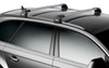 Thule AeroBlade Edge Roof Rack - Fixed Mounting Points/Flush, Factory Side Rails - Aluminum - Silver Aluminum TH7603-TH7604