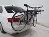 0  trunk bike racks thule 3 bikes fits most factory spoilers th78vr