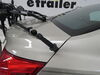 2015 chevrolet malibu trunk bike racks thule frame mount - anti-sway adjustable arms manufacturer