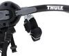 thule trunk bike racks 3 bikes fits most factory spoilers manufacturer