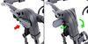 thule trunk bike racks frame mount - anti-sway adjustable arms manufacturer