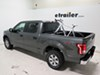 2016 ford f-150 truck bed bike racks thule fork mount 9mm axle bed-rider 2 rack for beds - aluminum