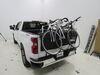 Truck Bed Bike Racks TH824PRO - Tailgate Mount - Thule on 2020 Chevrolet Silverado 1500