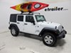 Thule Hull-A-Port Kayak Carrier w/Tie-Downs - J-Style - Fixed - Side Loading J-Style TH834 on 2015 Jeep Wrangler Unlimited