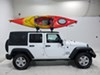 TH834 - Roof Mount Carrier Thule Watersport Carriers on 2015 Jeep Wrangler Unlimited