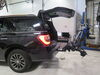 2020 ford expedition hitch bike racks thule platform rack fits 2 inch on a vehicle