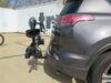 0  hitch bike racks thule platform rack tilt-away on a vehicle