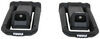 thule watersport carriers kayak track mount hull-a-port aero carrier w/ tie-downs - j-style folding 1