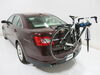 Thule Raceway PRO 2-Bike Rack - Trunk Mount - Adjustable Arms 4 Straps TH9001PRO on 2010 Ford Taurus