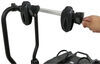 thule hitch bike racks platform rack 2 bikes easyfold xt for electric - 1-1/4 inch and hitches frame mount