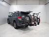 0  hitch bike racks thule platform rack fold-up tilt-away on a vehicle