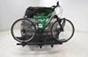 0  hitch bike racks thule fold-up rack tilt-away 2 bikes in use