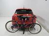 0  hitch bike racks thule tilt-away rack fold-up 2 bikes on a vehicle