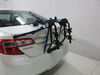 Thule Passage 2 Bike Carrier - Trunk Mount Adjustable Arms TH910XT on 2012 Toyota Camry