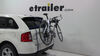 Thule Passage 2 Bike Carrier - Trunk Mount Non-Retractable TH910XT on 2013 Ford Edge