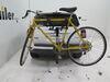 0  hitch bike racks thule hanging rack tilt-away fold-up in use