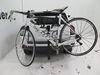 0  hitch bike racks thule tilt-away rack fold-up 4 bikes in use