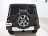 Thule Spare Me 2 Bike Rack - Spare Tire Mount - Folding Dual Arms Hanging Rack TH963PRO on 2015 Jeep Wrangler Unlimited