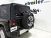 Thule Spare Me 2 Bike Rack - Spare Tire Mount - Folding Dual Arms Folding TH963PRO on 2015 Jeep Wrangler Unlimited