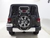 TH963PRO - Folding Thule Spare Tire Bike Racks on 2015 Jeep Wrangler Unlimited