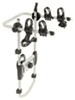 Thule Spare Me 2 Bike Rack - Spare Tire Mount - Folding Dual Arms Hanging Rack TH963PRO