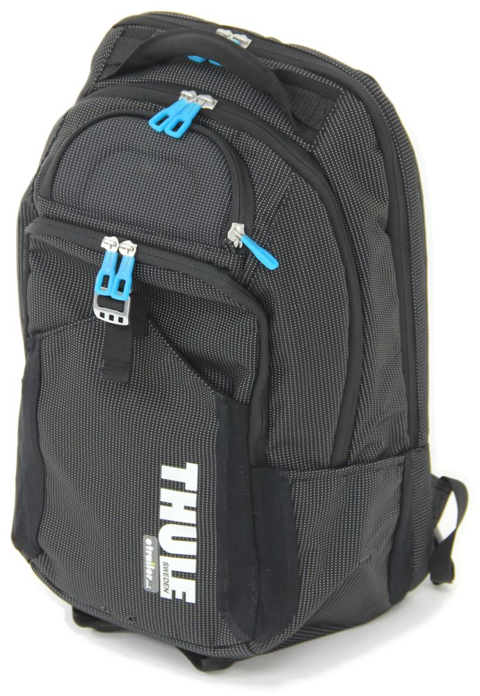 Backpacks THTCBP-417BLK - Crushproof Compartment,Laptop Sleeve,Tablet Sleeve,Mesh Back Panel,Weather Resistant - Thule