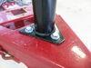 0  trailer jack etrailer a-frame no drop leg round - sidewind 15-5/8 inch travel 5 000 lbs