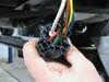 Tekonsha OEM Replacement Vehicle Wiring Harness w Brake Controller Adapter - 7 Way Trailer Connector 7 Blade TK24FR on 2020 Kia Sorento