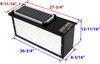 Battery Boxes TLA7708RS - Aluminum - Diamond Plate - TorkLift