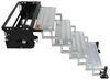 """TorkLift GlowStep Revolution Scissor Steps w/ Landing Gear - 4 Steps - 27-1/2"""" Base - 375 lbs 27-1/2 Inch Wide TLA8004"""