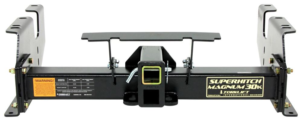 """TorkLift SuperHitch Magnum Trailer Hitch Receiver - Custom Fit - Class V - 2-1/2"""" and 2"""" 20000 lbs GTW TLC1212-30"""