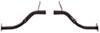 TorkLift Custom Frame-Mounted Camper Tie-Downs - Rear Powder Coated Steel TLD3107