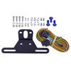 optronics trailer lights tail 8l x 3w inch led combination - submersible driver and passenger side 25' wire harness