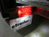 0  trailer lights optronics tail stop/turn/tail side reflector rear license plate in use