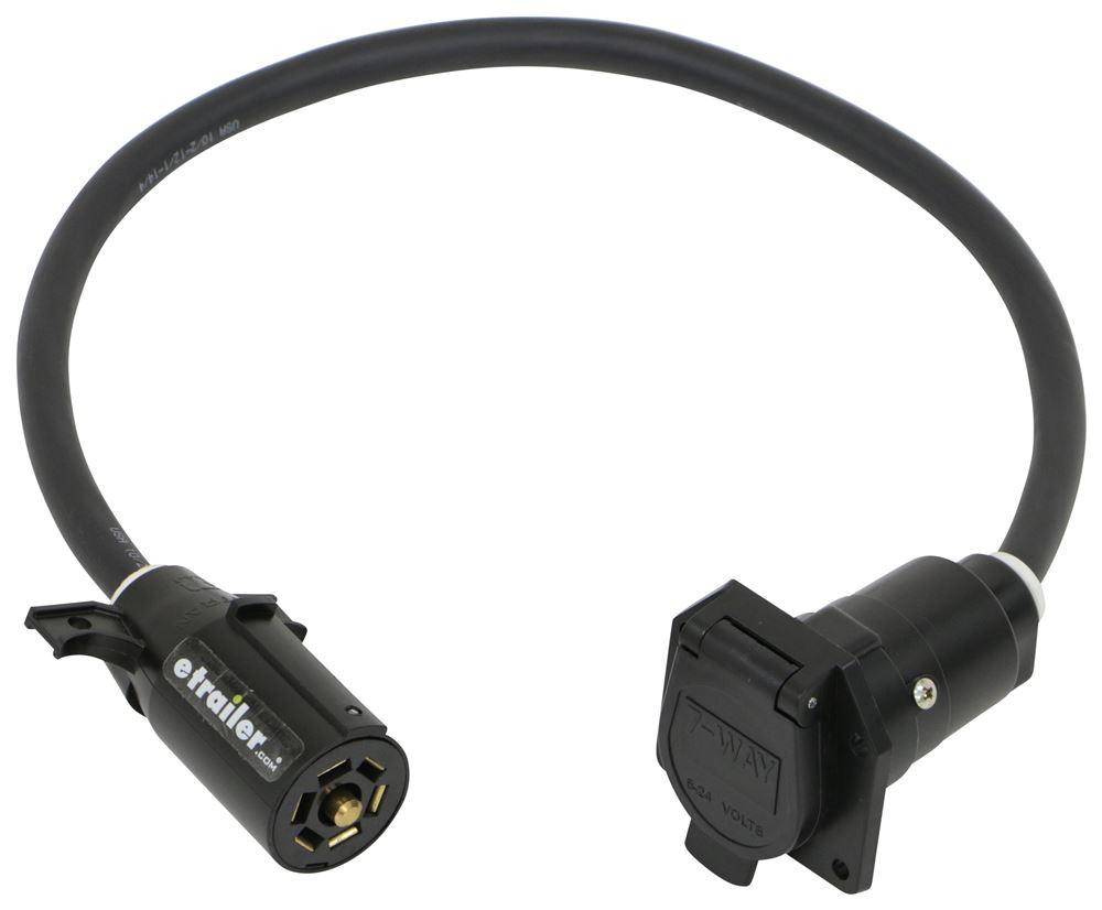 "TorkLift Wiring Harness Extension for 24"" SuperTruss Hitch Extender - 7-Way RV 7 Blade TLW6024"
