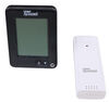 TempMinder Wireless Indoor and Outdoor Thermometer w/ Remote Sensor and Clock Thermometer/Hygrometer TM22259VP