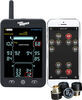TireMinder A1AS TPMS for RVs and Trailers w/ Signal Booster - Bluetooth - 4 Tire Sensors Standard Sensors TM49FR
