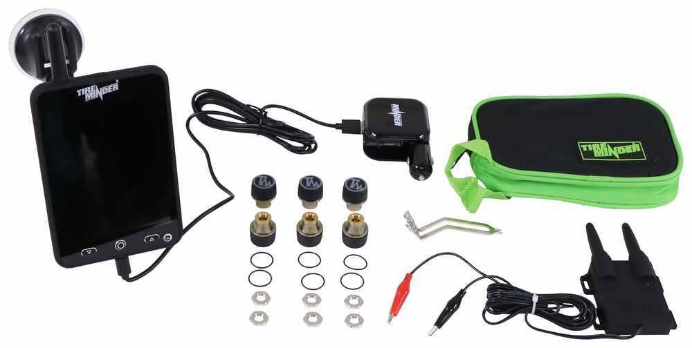 TireMinder Monitor Display,Smartphone Display TPMS Sensor - TM69FR