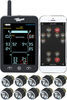 tireminder tpms sensor rv trailer standard sensors a1as for rvs and trailers w/ signal booster - bluetooth 10 tire