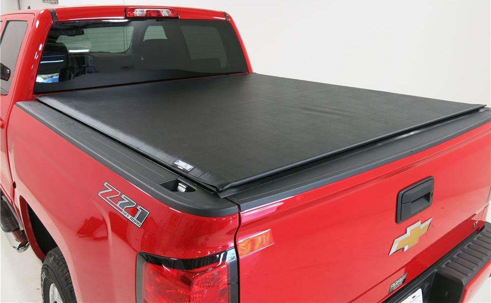 Tonno Pro LR-3050 Lo-Roll Black Roll-Up Truck Tonneau Cover