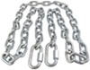 "Safety Chain with Quick Links - 72"" Long - 5,000 lbs Towing a Trailer TR63035"