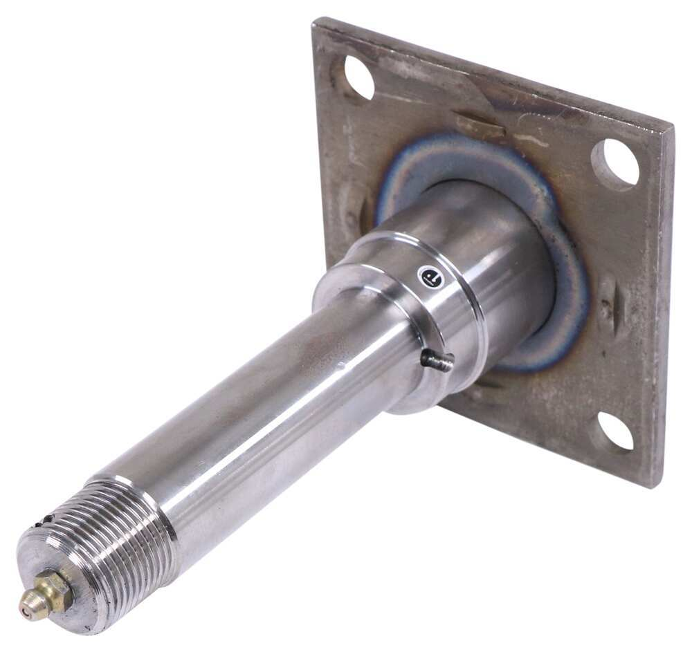 "BTR E-Z Lube Spindle w/ Brake Flange for 2,500-lb Trailer Axles - 1-3/4"" Diameter Round TRU27FR"
