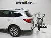 "Kuat Transfer 2 Bike Platform Rack - 1-1/4"" and 2"" Hitches - Wheel Mount - Tilting - Gray Locks Not Included TS02G on 2017 Subaru Outback Wa"